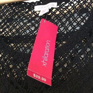 Xhilaration Dresses - Xhileration Black Maxi Dress Size XL